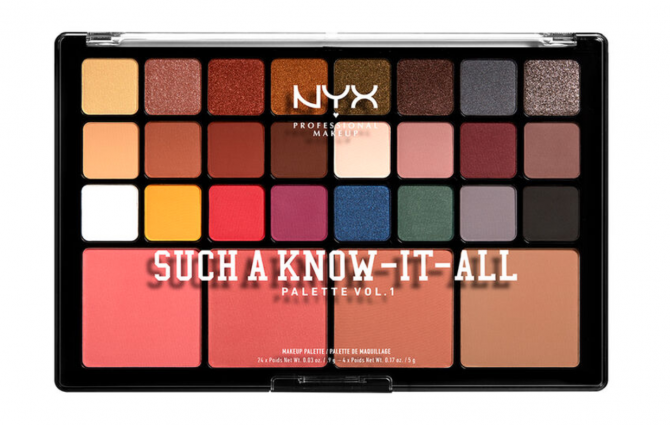 nyx palette make-up
