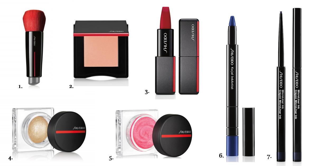 shiseido luxe make-up