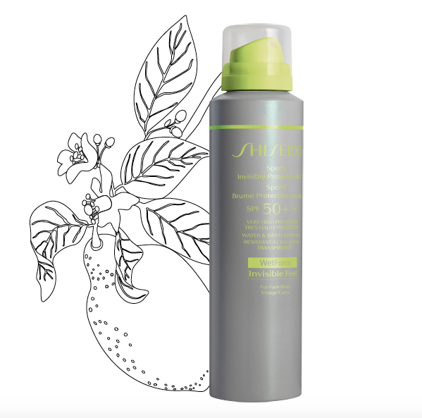 sports invisible protective mist spf 50