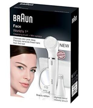 Braun, skincare, gezicht