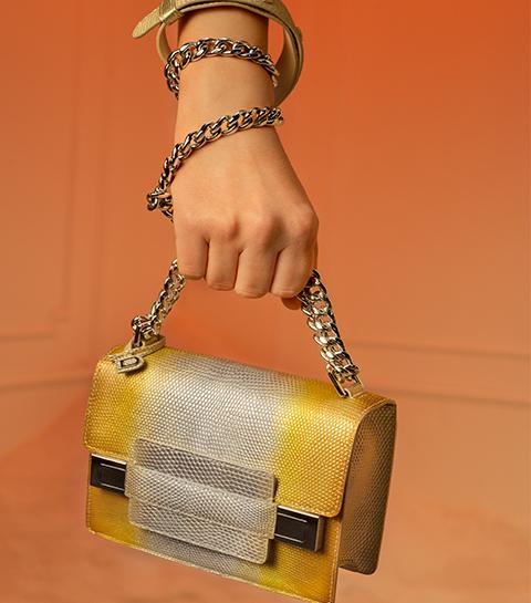 De iconische handtas van Delvaux heruitgevonden