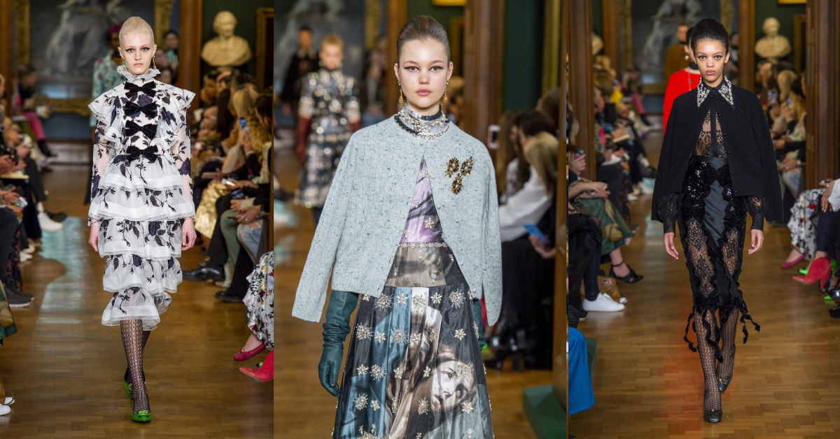 erdem, fashion week, londen