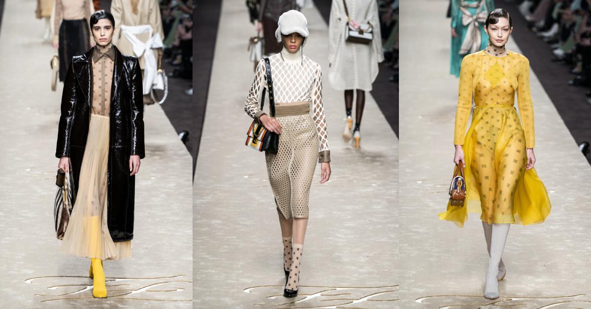 milaan fashion week karl lagerfeld