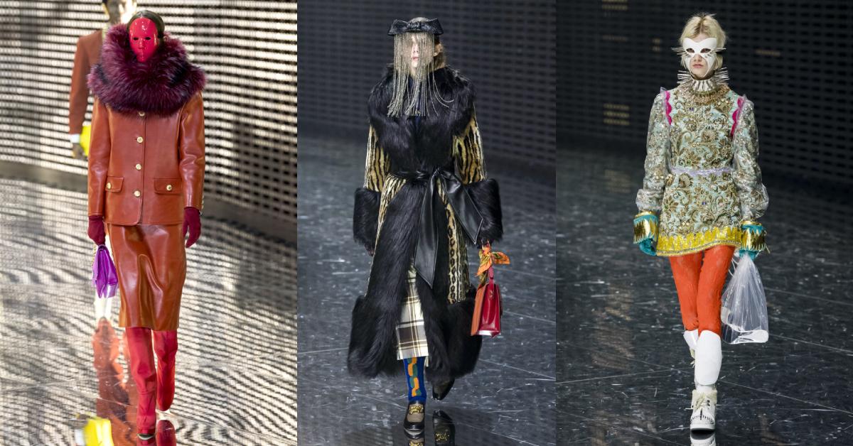 milaan fashion week gucci