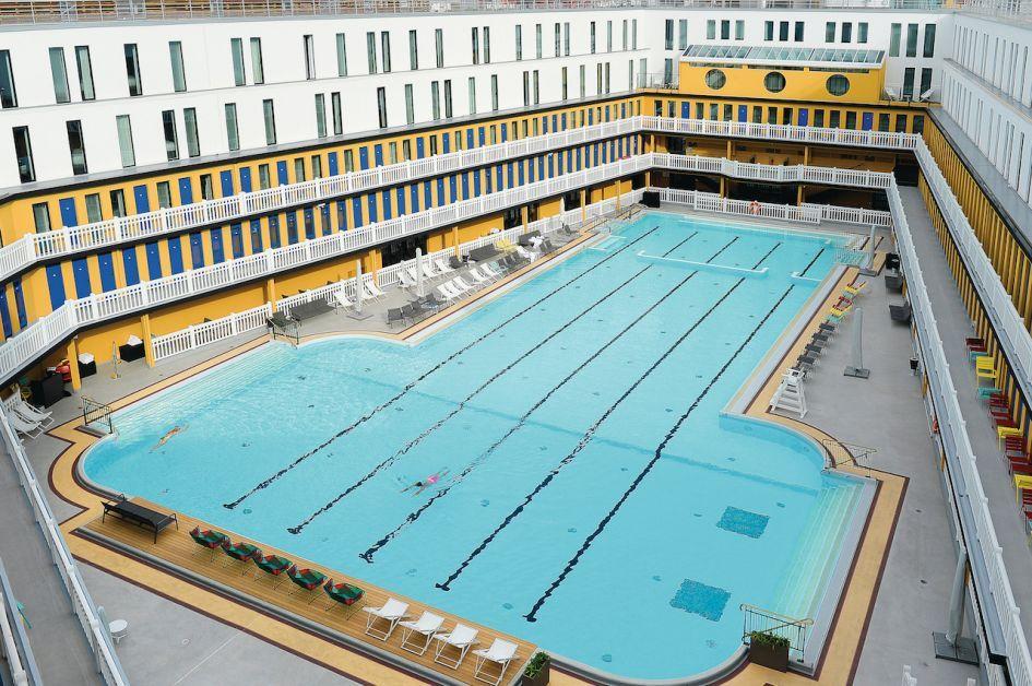 Molitor, zwembad, Parijs