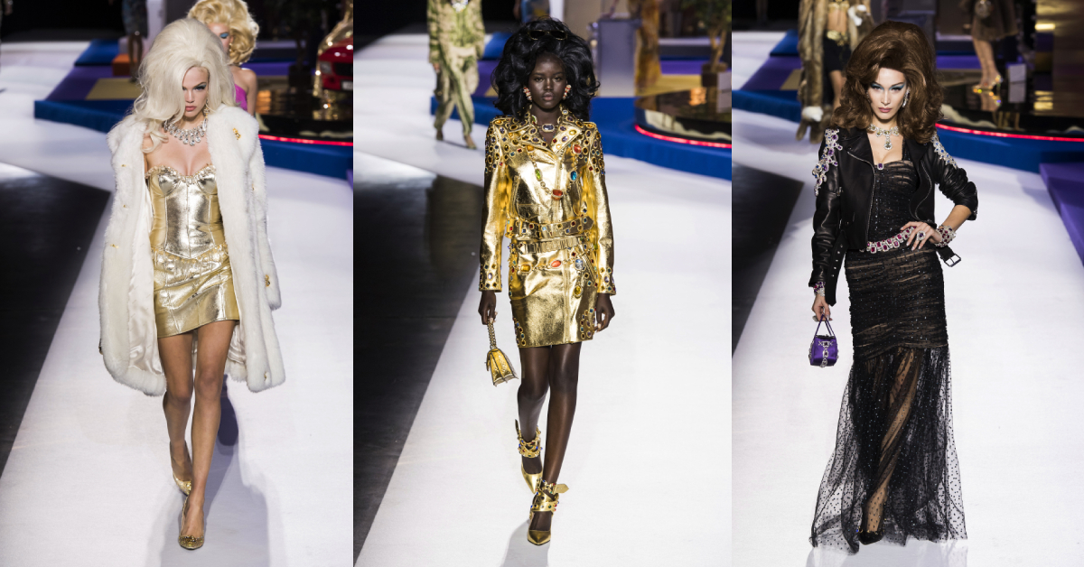 moschino milaan fashion week