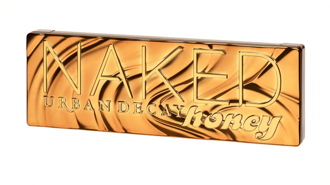 urban decay naked palet oogschaduw Honey