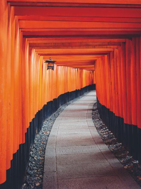 tempel van fushimi inari