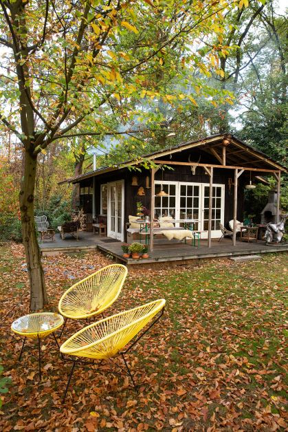 chalet in bos