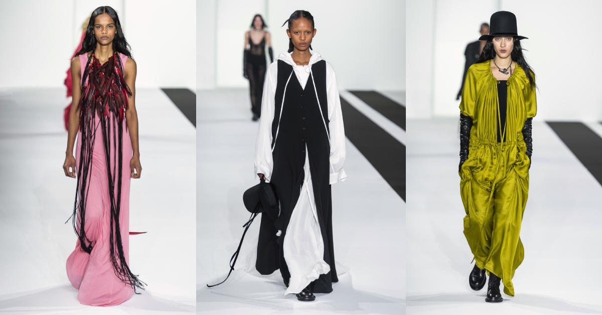 ann demeulemeester parijs fashion week