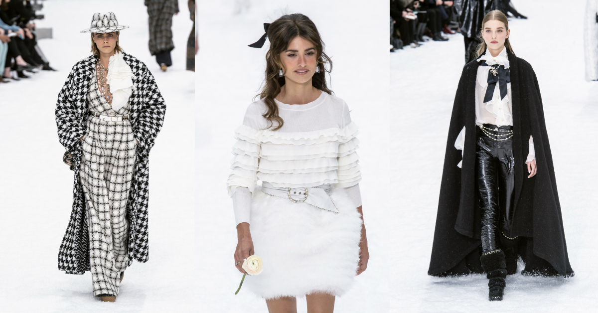chanel parijs fashion week
