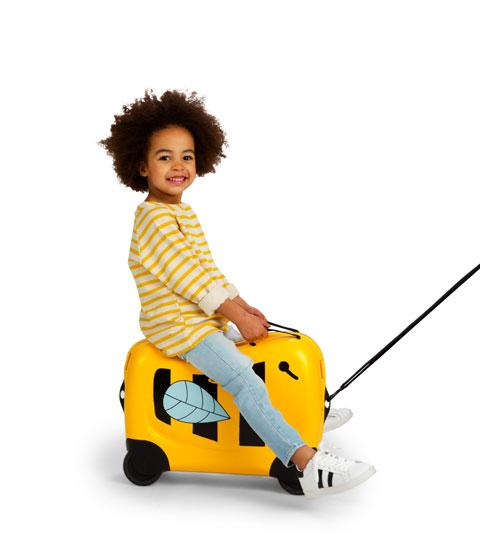 Met deze koffers wordt reizen met je kids kinderspel
