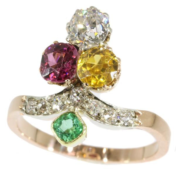adin vintage ring juwelen suffragette