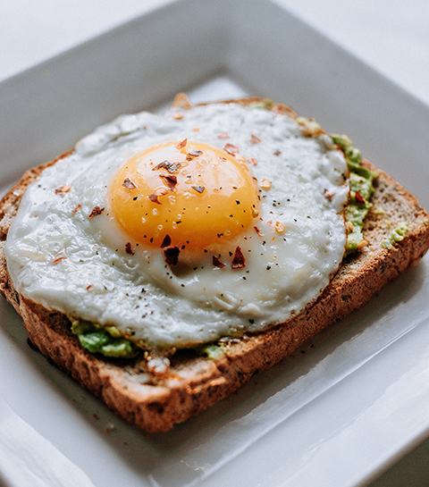 ontbijt, avocadotoast