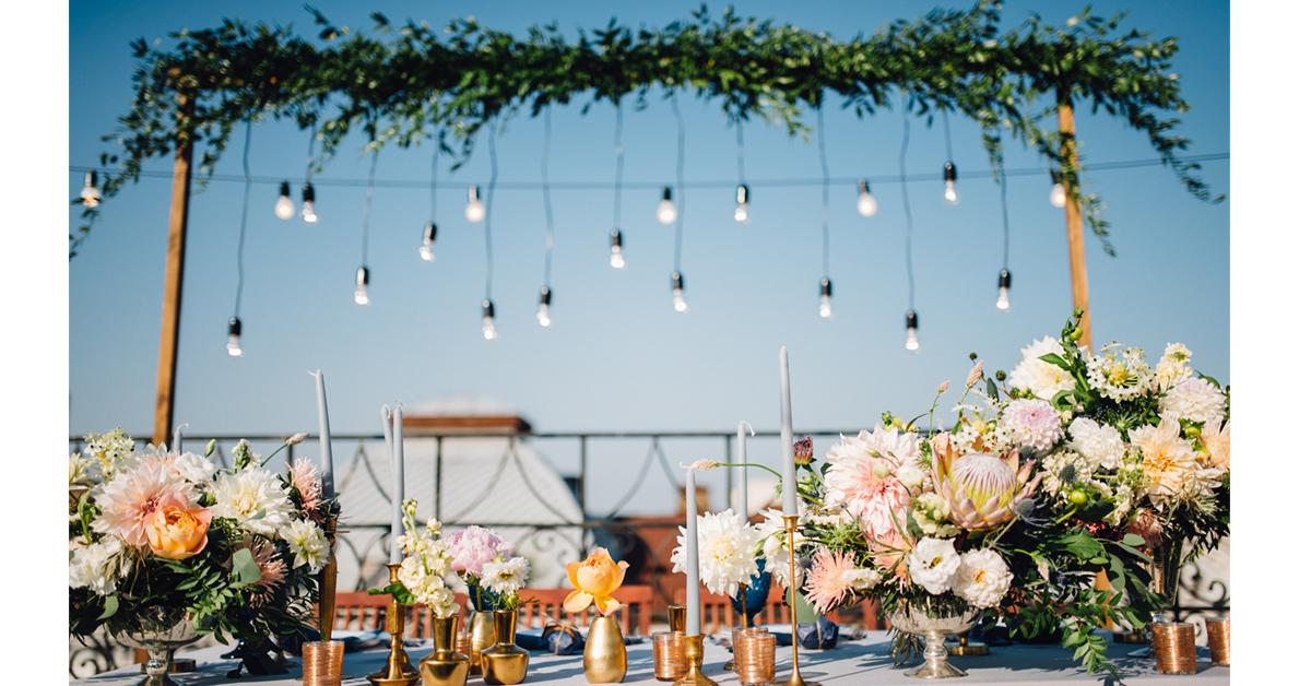 zomerse bruiloft 2019 bloemen planten