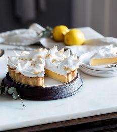 Zo maak je een citroentaart met meringue