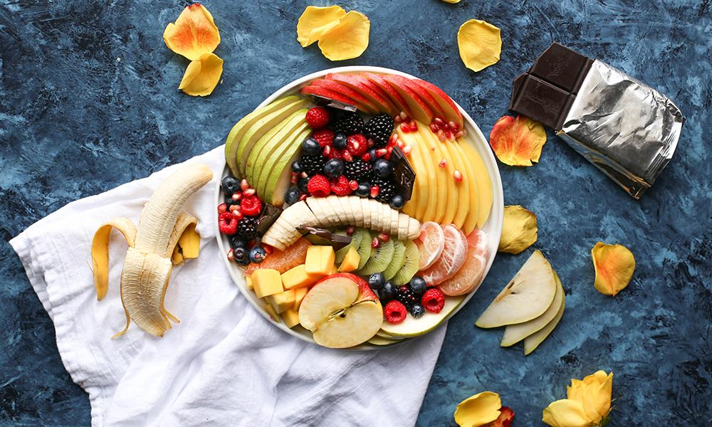 fruit, gezond, ontbijt