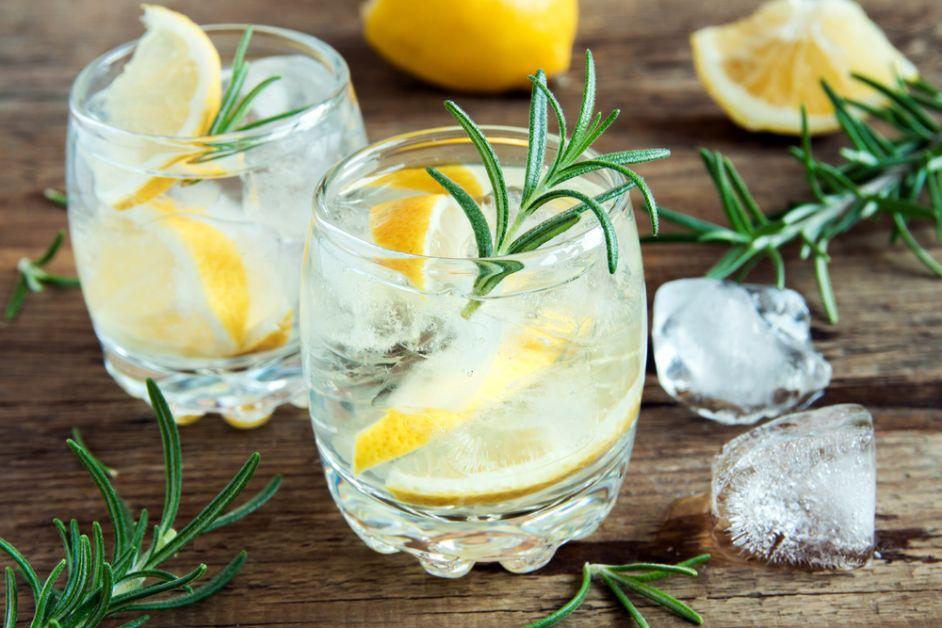 gin, ginger ale, tonic, recept, origineel