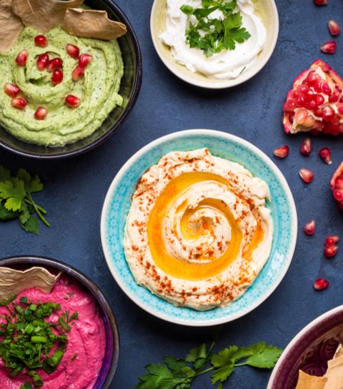 10 originele hummus recepten om uit te proberen
