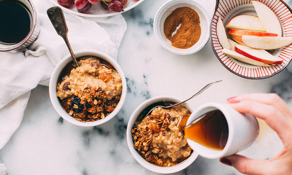 gezond, ontbijt, fruit