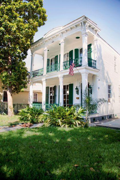 huis, New Orleans, reizen