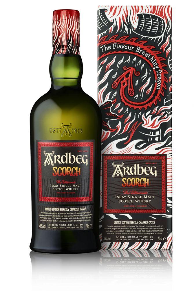 Ardeg Scorch Single Malt Whiskey