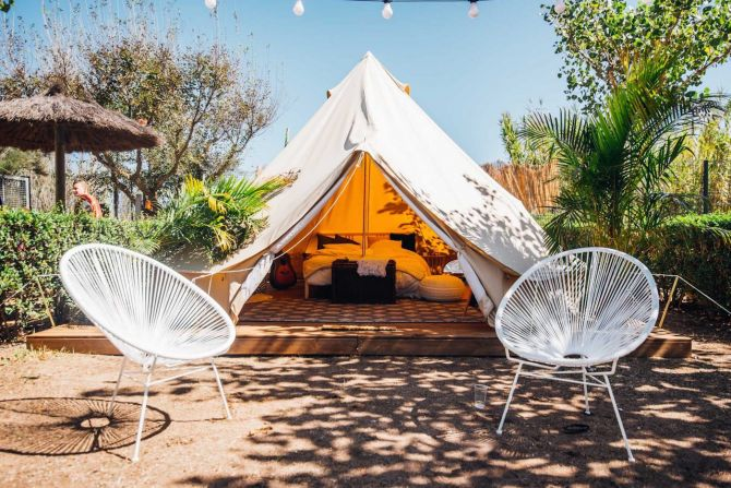 glamping kamperen ecologisch