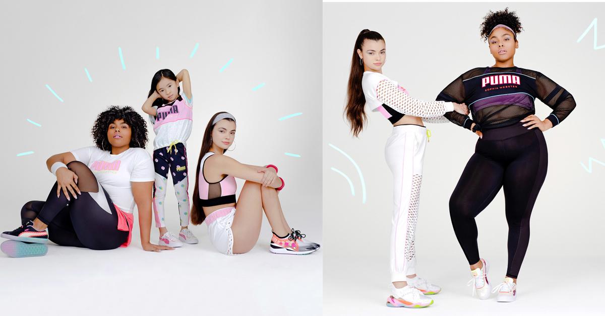 puma sophia webster sportswear collab