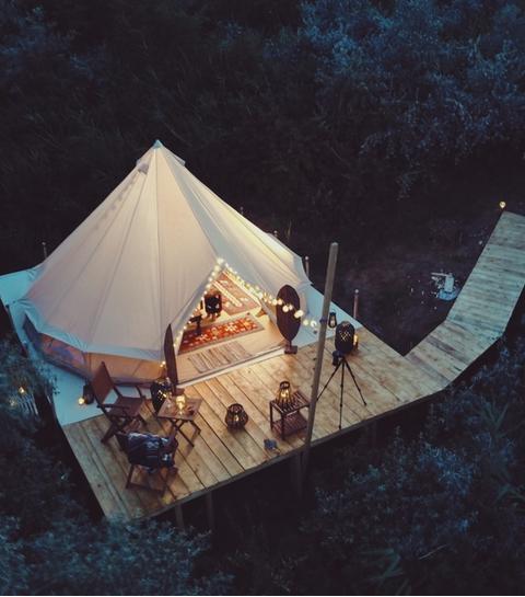 Glamping: vijf authentieke hotspots om te kamperen in Europa