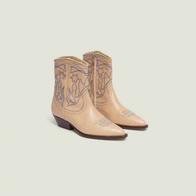 WCD Sandro Paris boots
