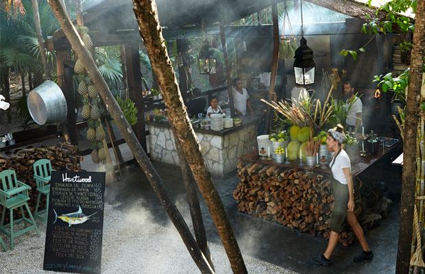 Restaurant, Hartwood, Tulum, Open-air