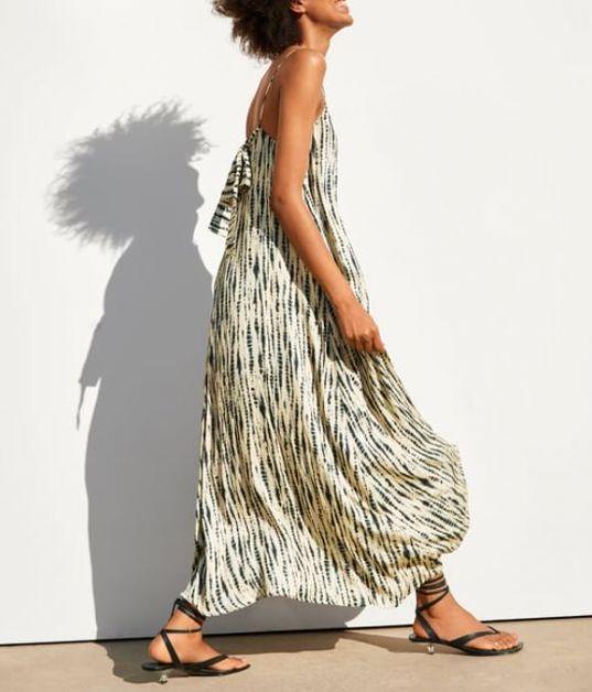 Zara jurk zomer vakantie reizen koffer