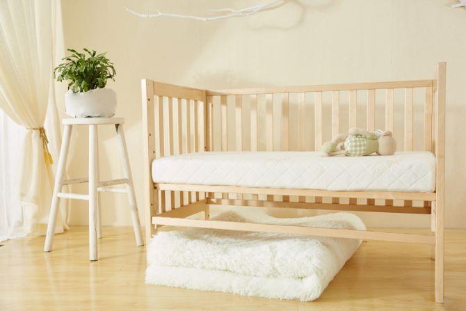 half-open wieg babybed