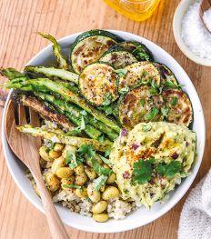 Een 100% veggie groentebowl