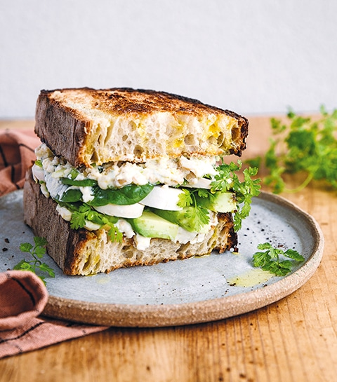 De ideale breakfast sandwich voor een goed begin van de dag