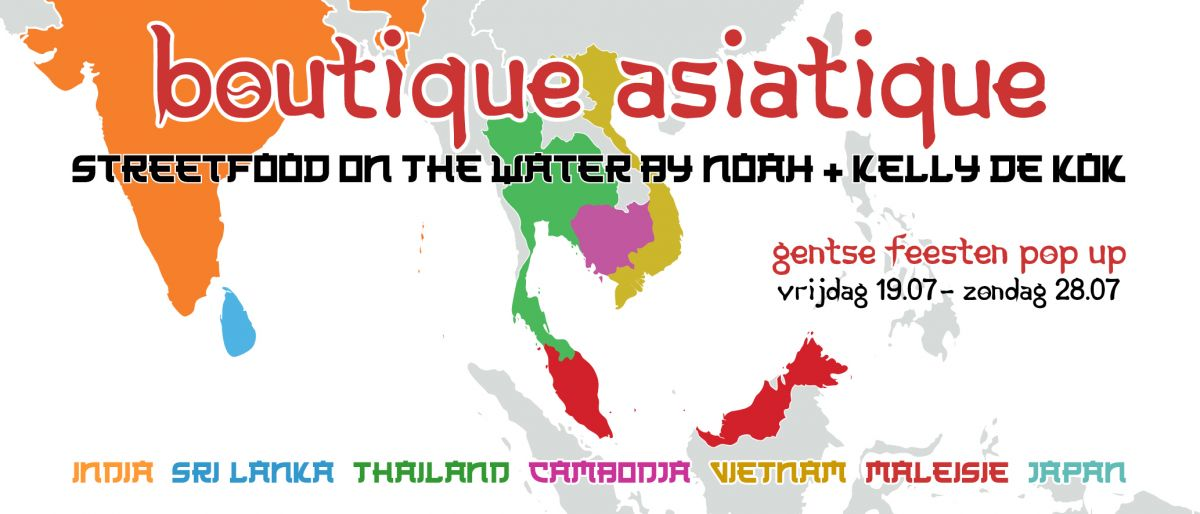 gentse feesten, pop up, food, aziatisch,noah, boutique asiatique