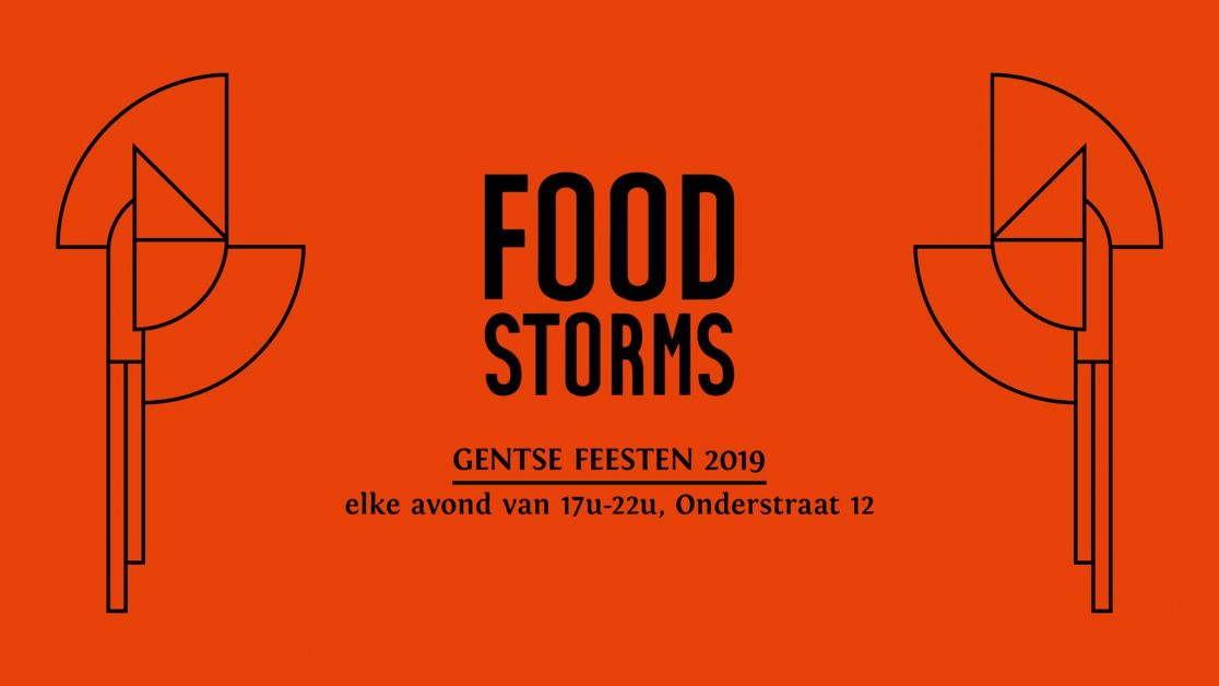 gentse feesten, foodstorms, pop up, food, maison 12