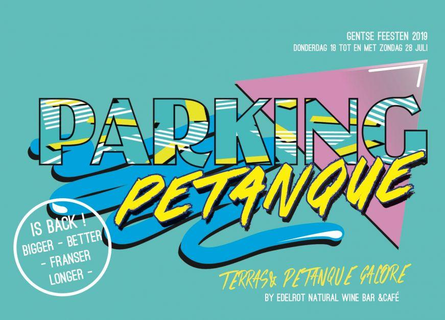 parking petanque, gentse feesten, bar, tapas