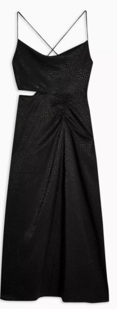jurk zwart Topshop