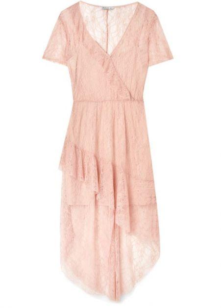 roze jurk Stradivarius