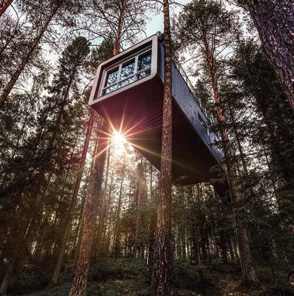 Boomhut-Hotels, Treehouse, Zweden