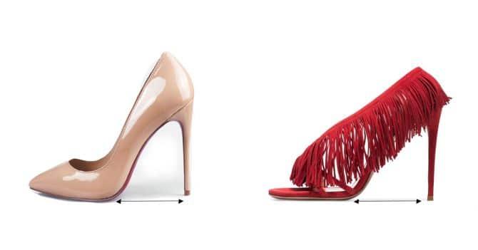 schoenen hakken comfort