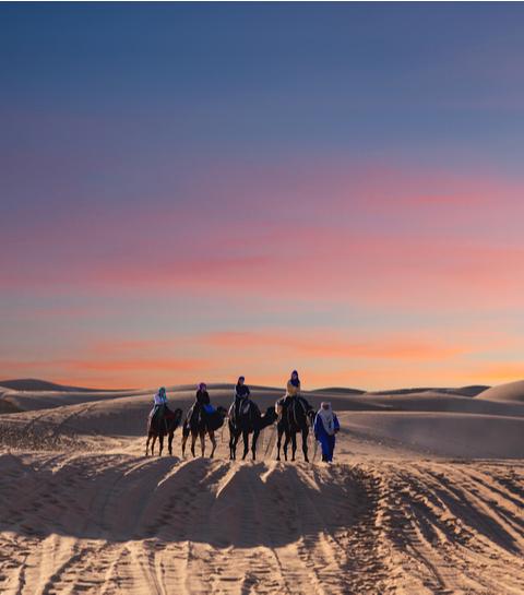 Dit zijn de mooiste overnachtingsplekjes in de woestijn