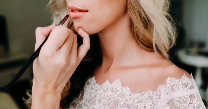 bruidsmake-up trouwen