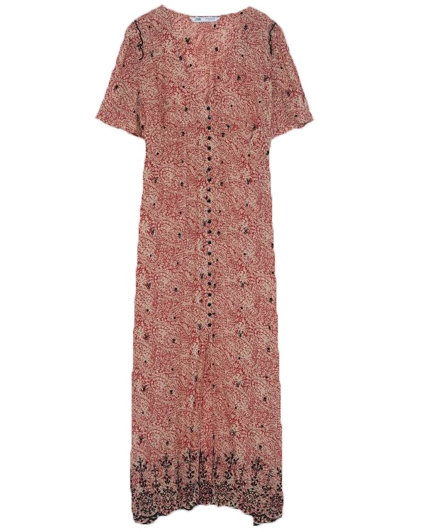 Zara lange jurk