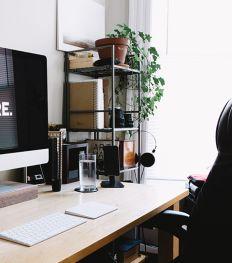 Zo creëer je een stijlvolle bureau bij je thuis
