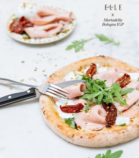 Recept: witte pizza met Mortadella Bologna IGP Bologna