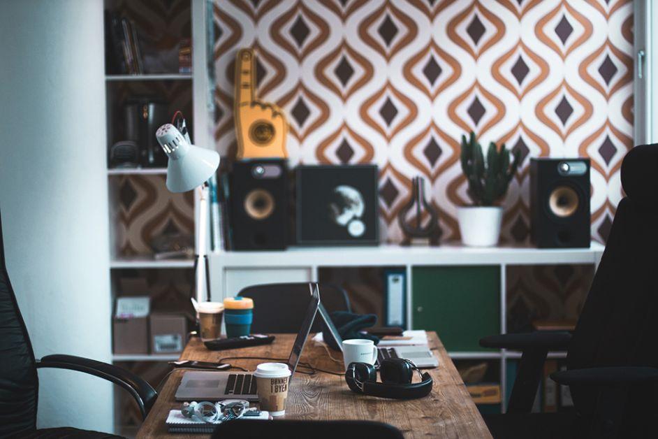 kantoor bureau inrichten thuis home office
