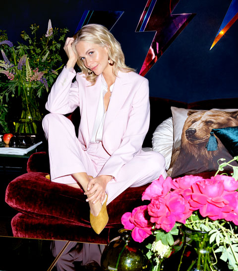 Coole collab: it-girl Poppy Delevingne x H&M Home