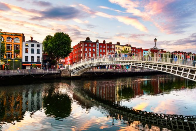 vakantie reisbestemmingen Ierland Dublin